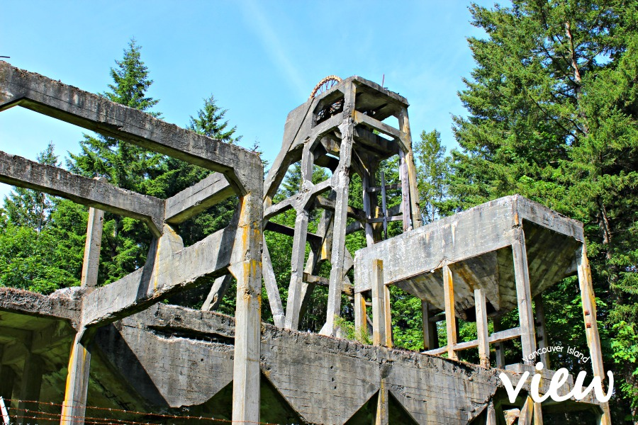 Morden Colliery - a view from one of the top 10 Nanaimo walks