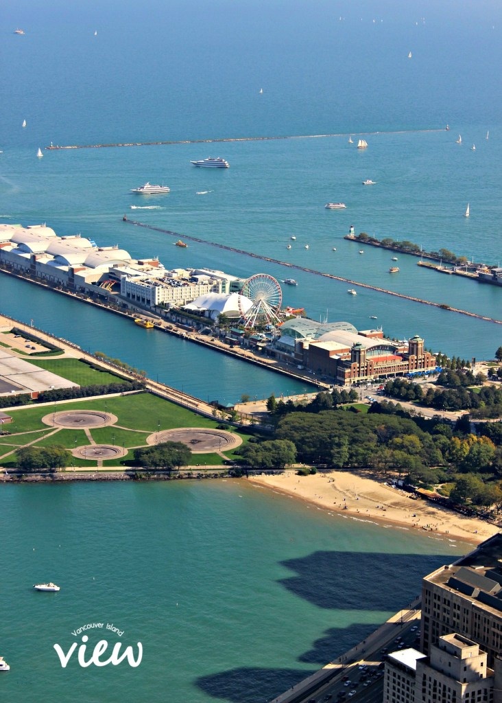 View of Navy Pier - Chicago is most definitely a place not to be missed. Here are some great tips on seeing the best of the best in the Windy City.