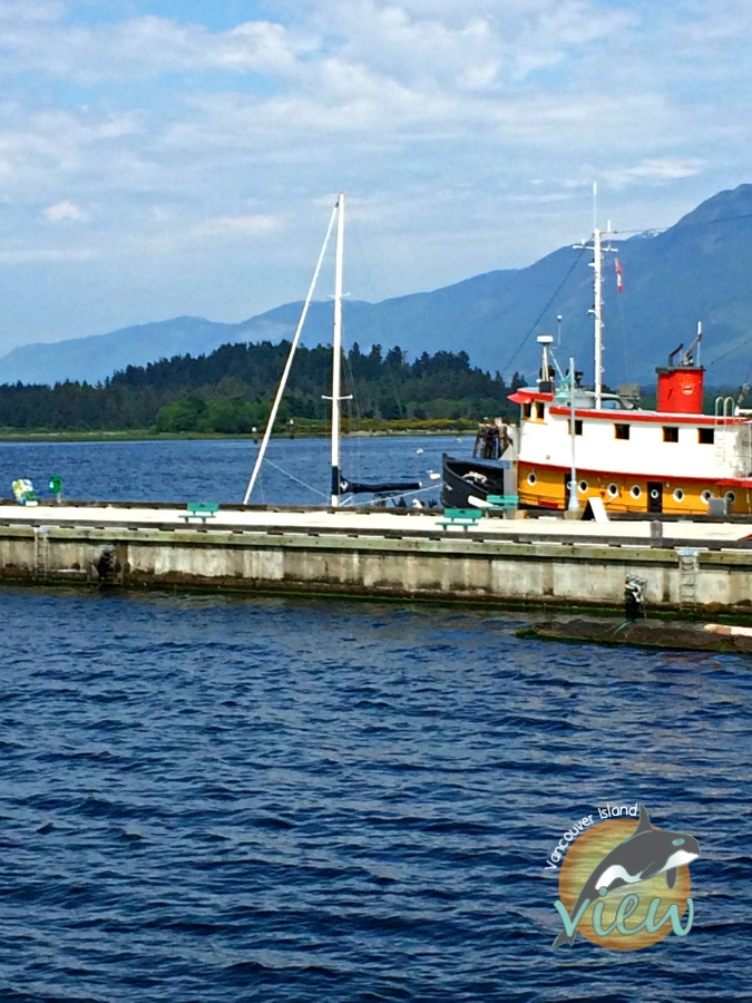Harbour Quay in Port Alberni. One of the many things to see and do while on route from Nanaimo to Tofino.