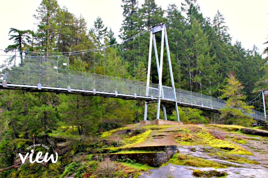 Top Bridge - one of the many hidden gems found on Vancouver Island