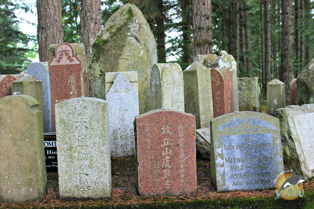 The Japanese and Chinese cemeteries in Cumberland shows the rich history of the area.