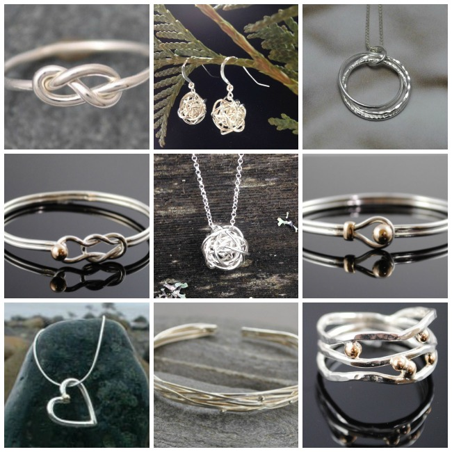 Emily Ferris Jewellery - one of the amazing artists featured in our Vancouver Island Gift Guide - Gift Ideas for Her