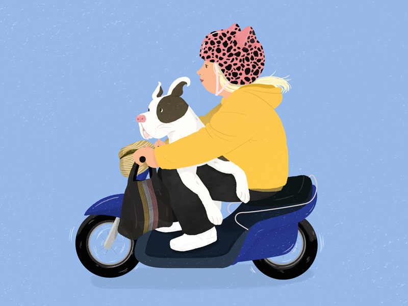 Vancouver Loves Their Dogs by Mika Senda