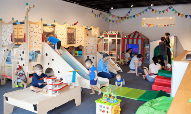Three indoor play spaces for under 5s in urban Vancouver