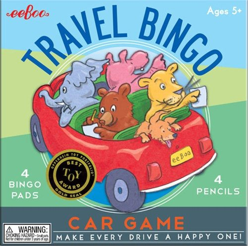 travel bingo for kids