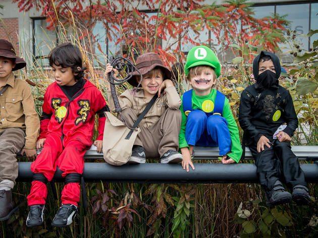 wesbrook village halloween