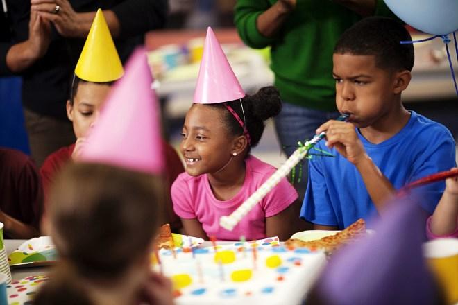 Birthday party at Skyzone Surrey