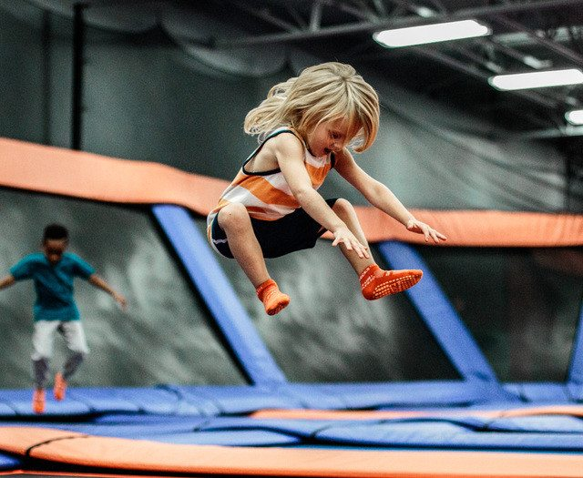 Birthday party toddler at Skyzone Surrey
