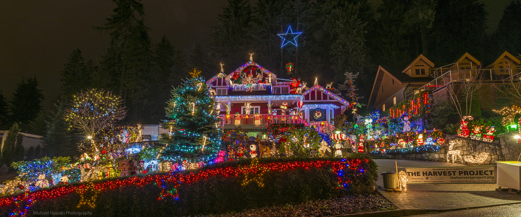One single house in North Vancouver puts up more than 1,000,000 lights at  Christmas time. The work begins a couple months in advance, and this family  ... - 15 Dazzling Holiday Light Displays In Metro Vancouver! - Vancouver Mom