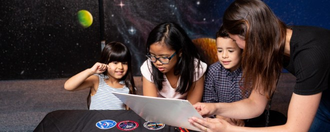 Kid friendly HR MacMillan Space Centre