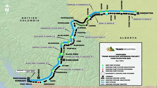 Trans Mountain tells NEB pipeline expansion is 'safe and ...