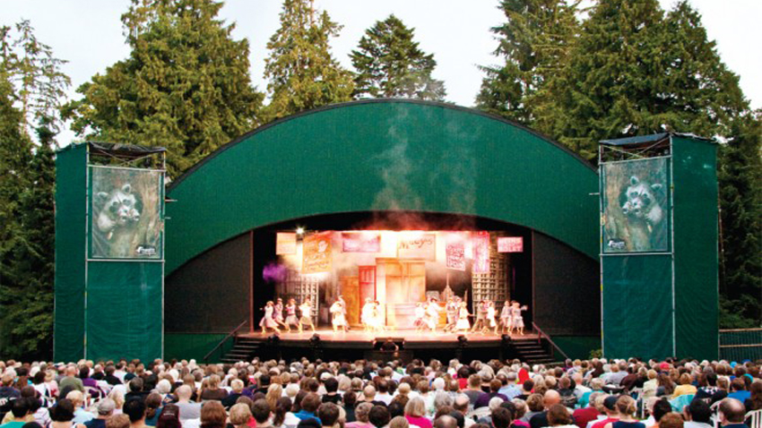 Theatre Under the Stars, TUTS, Stanley Park, Vancouver