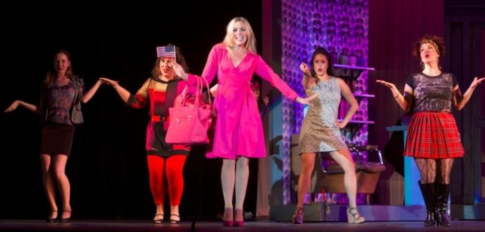 Pretty in pink, Jocelyn Gauthier brings the sass as Elle Woods in Legally Blonde. Photo by Milan Radovanovic
