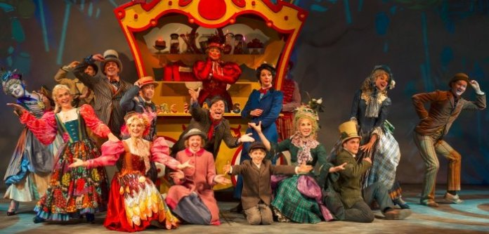 The cast of the 2013 production of Mary Poppins. Photo by David Cooper.