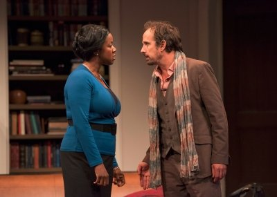 Marci T. House and Robert Moloney in Disgraced
