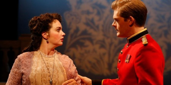 Emma Slipp and Martin Happer in the Blackbird Theatre production of The Rivals. Photo by Tim Matheson.