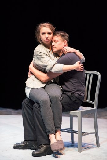 Pippa Mackie and Robert Salvador in The Valley. Photo by Emily Cooper.
