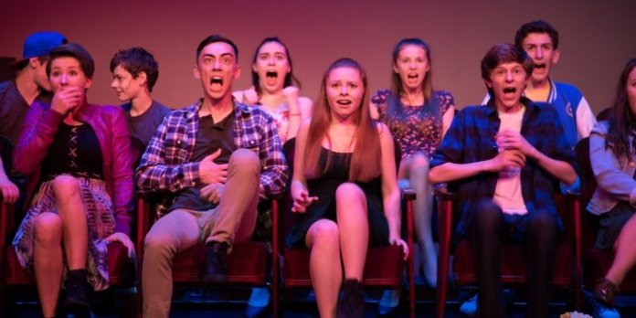 Members of the cast of 13: The Musical. Photo by Nicol Spinola.