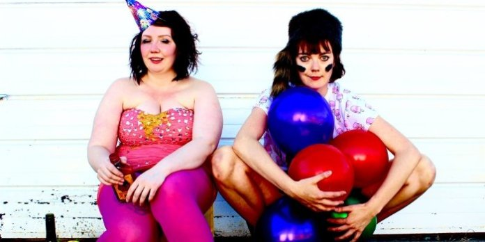 The After Party Girls, Jules & Fiona (aka Cheyenne Mabberley and Katey Hoffman).