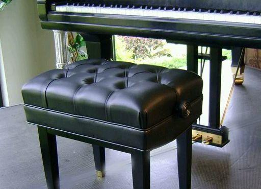 Jansen Adjustable Artist Piano Bench Steinway Bench