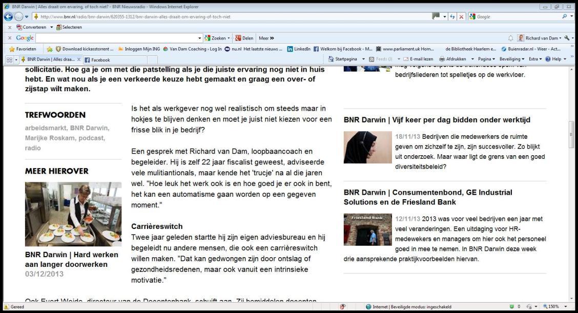 BNR darwin website