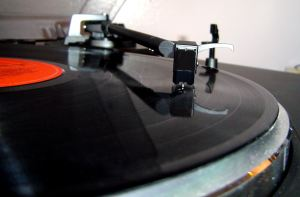 techniek kapotte grammofoon