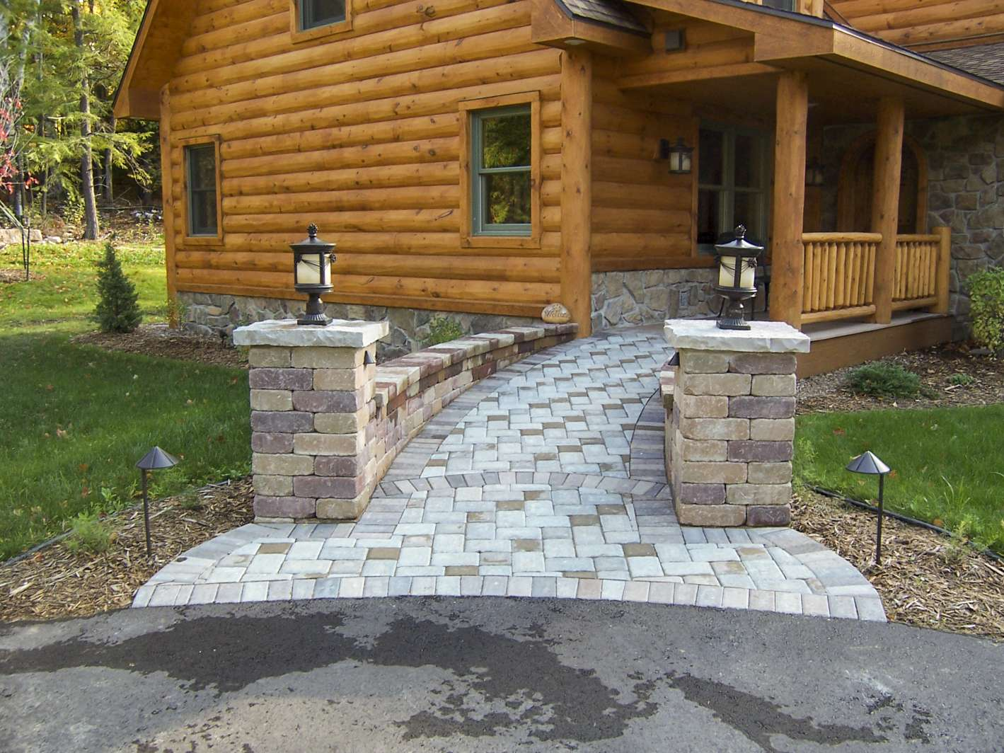 Landscaping Design of Patios, Walkways, and Paths, in ... on Landscaping And Patios id=40806