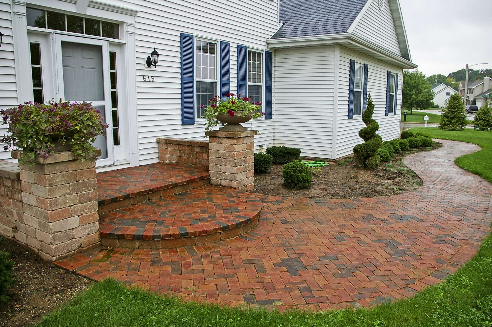 Landscaping Design of Patios, Walkways, and Paths, in ... on Landscaping And Patios  id=85654