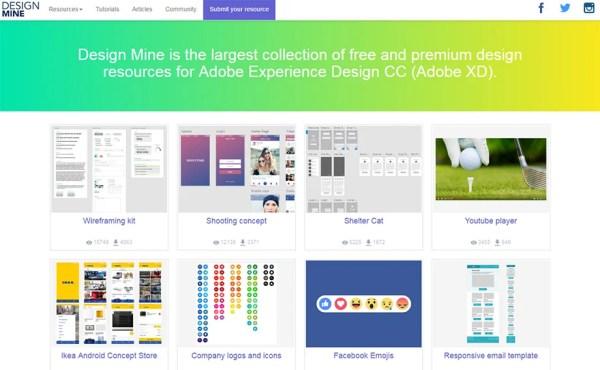 Best Adobe XD Resource Websites For Freebies Tutorials