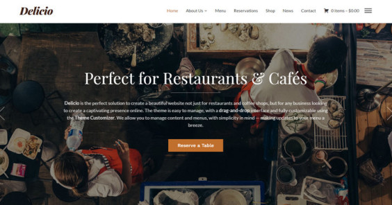 Appetizing and Functional: 20 Delicious WordPress Restaurant Themes