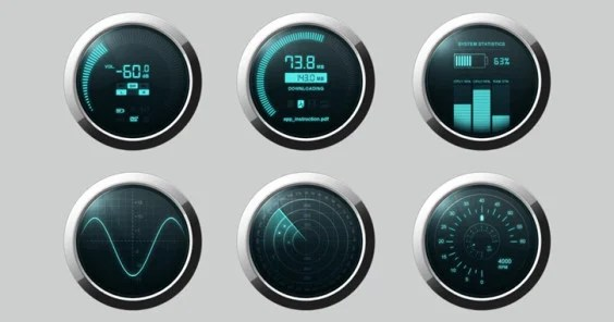 Dashboard PSD – Source File Free Download