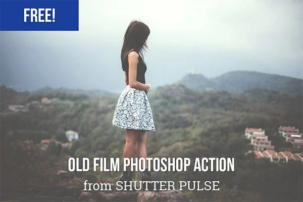 Old Film Photoshop Action