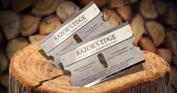 razor business cards