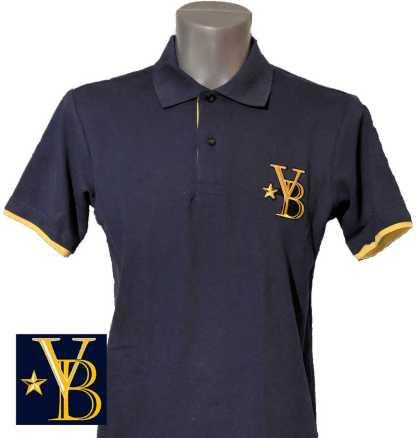 classic polo shirt, blue polo, vanderbilt bijl polo
