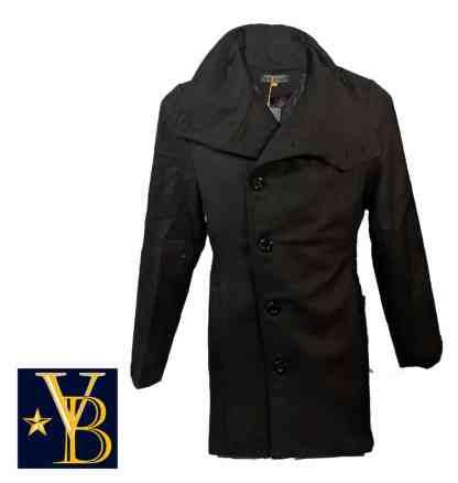 Long coat with high collar vb 3