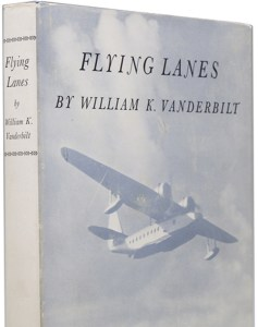 Flying Lanes, dust jacket detail
