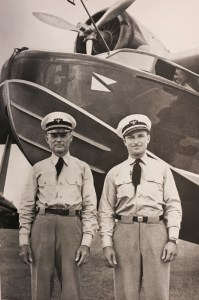 Vanderbilt Museum archives Pilot Earl F. White and mechanic Henry Gerstung