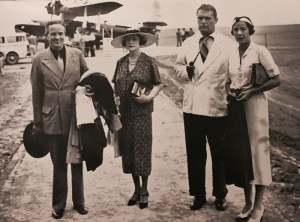 Vanderbilt Museum archives The Vanderbilts and Huntingtons at the airport in Mendoza, Argentina