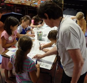 Making creative projects in Vanderbilt summer workshops