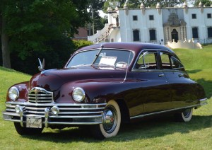 Photo By Wayne Hedlund AACA club member Keith Moser's 1949 Packard Super Eight