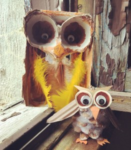 Owl-craft workshop creations