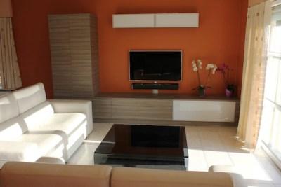 Project woonkamer met meubels 2
