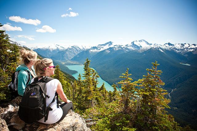 惠斯勒5個最美的登山道