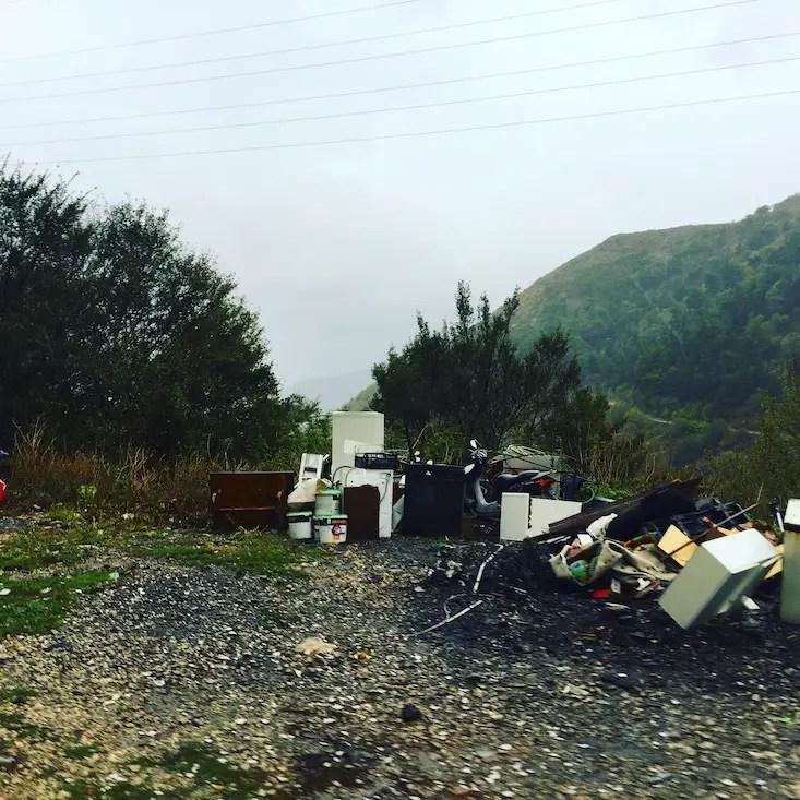 Montenegro Umweltschutz Verschmutzung Camping Wohnmobil