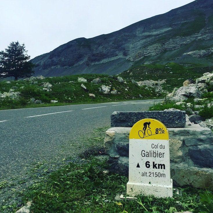 Col du Galibier Französische Alpen Frankreich Pässe Touren Rundreise Wohnmobil hund