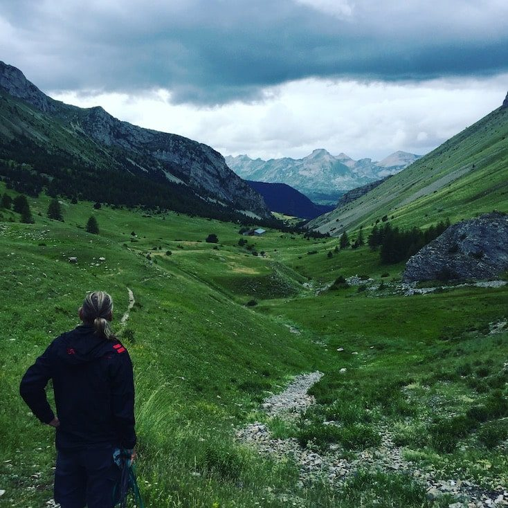 Devoluy Wandern Wanderung Hund Alpen Frankreich Hund Col du Noyer