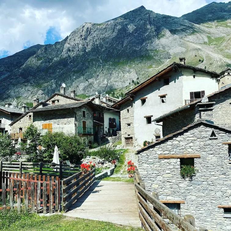 Valle Maira Chiappera Acceglio Piemont Italien Wandern