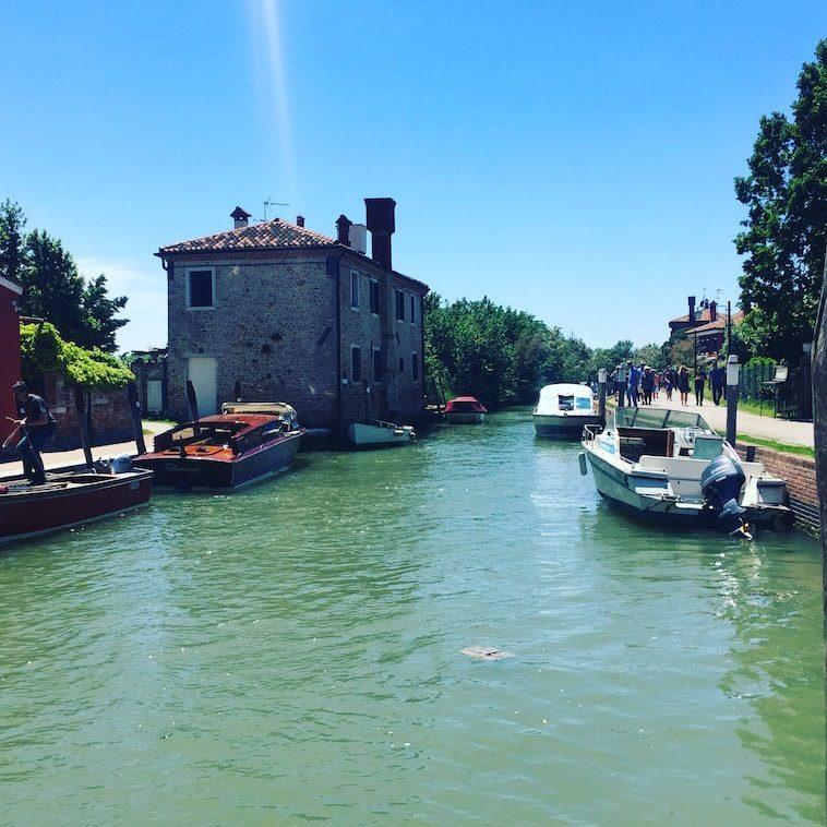 Torcello Laguna Nord Lagune von Venedig Insel