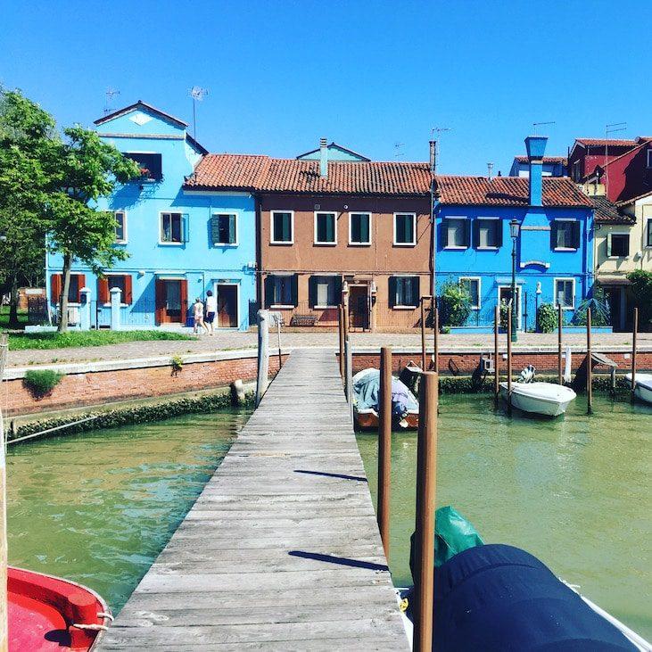 Laguna Nord Burano Laguna von Venedig Ausflug Boot Motorboot
