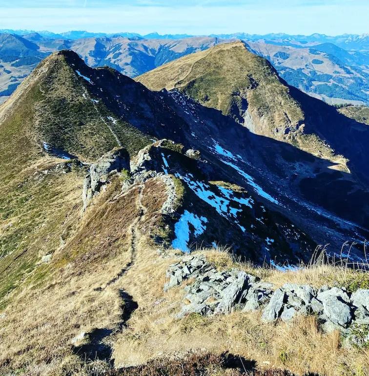 Kitzbüheler Alpen Berge Tirol Jochberg Torsee Schützkogel Wandern Grasberge